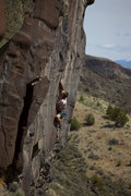 "Rock Climbing Photo: Tim Naylor on his route ""Rat Run""  Image..."