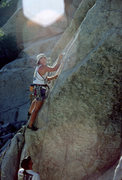 Rock Climbing Photo: Mike Kurilich starting up Smitty's