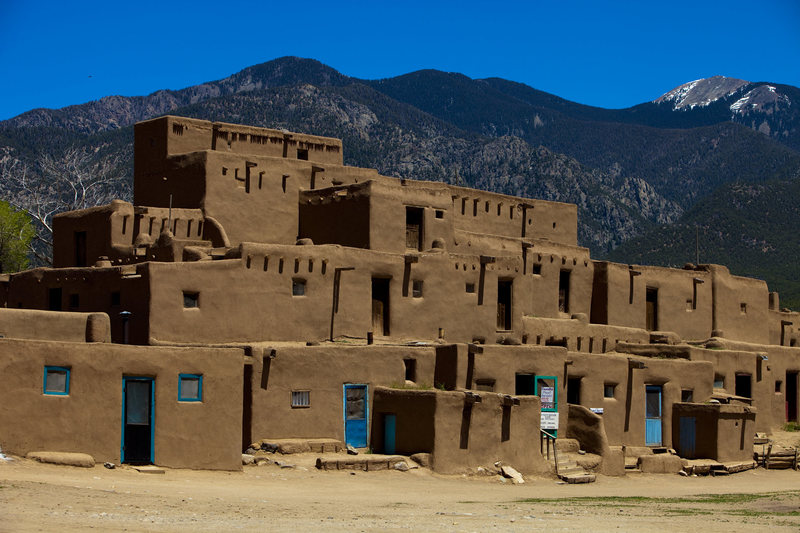 Taos Pueblo<br> <br> Photo courtesy of andrewburr.com. All rights reserved.<br>