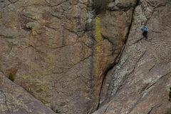 Rock Climbing Photo: Kristen Samet on DD  Photo courtesy of andrewburr....