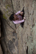 Rock Climbing Photo: Donna Longo placing bomber wires.  Photo courtesy ...