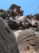 Rock Climbing Photo: 5.8