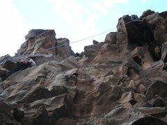 Rock Climbing Photo: sweet anchor courtesy of Glenn