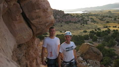 Rock Climbing Photo: RIght before the assent