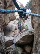 """Rock Climbing Photo: """"Pullin hard"""""""