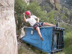 Rock Climbing Photo: Victory ride