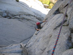 Rock Climbing Photo: zeb and cord in little cottonwood canyon