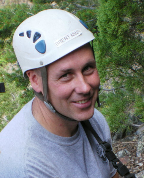 Rock Climbing Photo: Brent: awesome climbing ranger and all around cool...