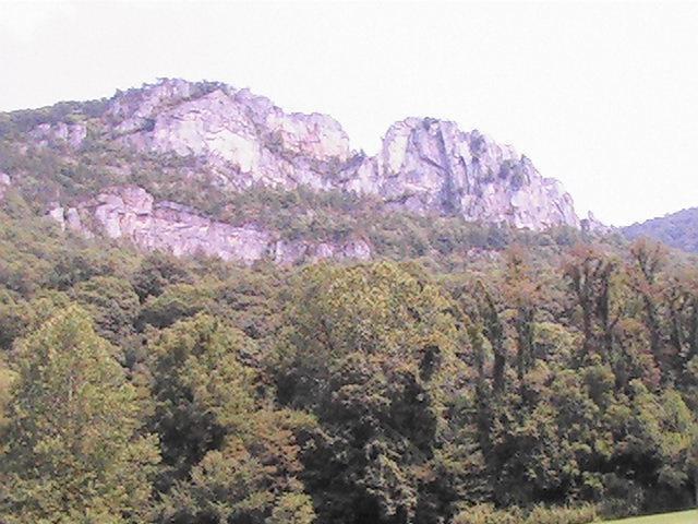 Rock Climbing Photo: The Seneca Rock Fin