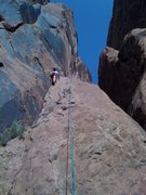 """Rock Climbing Photo: """"Slab"""" in the Moab"""