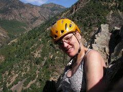 "Rock Climbing Photo: ""Sweet"" Louise Sargent"