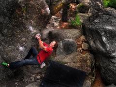 "Rock Climbing Photo: Luke Childers on ""The Mast.""  Gilligan's..."