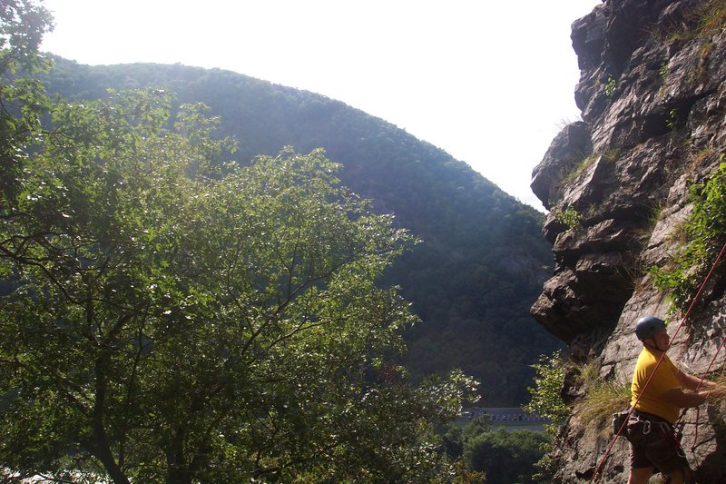 Rock Climbing Photo: Colin
