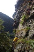 Rock Climbing Photo: Colin on Triumverate