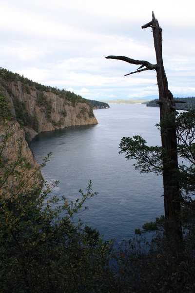 Deception Pass WA State Park<br> There is a route waiting to go up in here:)stay tuned for more.