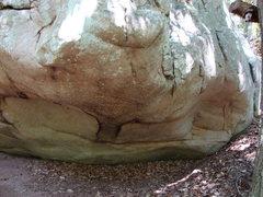 Rock Climbing Photo: start in right corner of photo