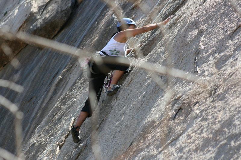 Rock Climbing Photo: Angina Boogaloo Direct. 9-13-09