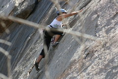 Rock Climbing Photo: Angina Boogaloo Direct. 9-13-09