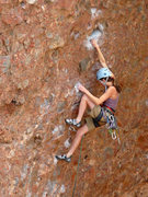 Rock Climbing Photo: Moves on the early part of the route. September 20...