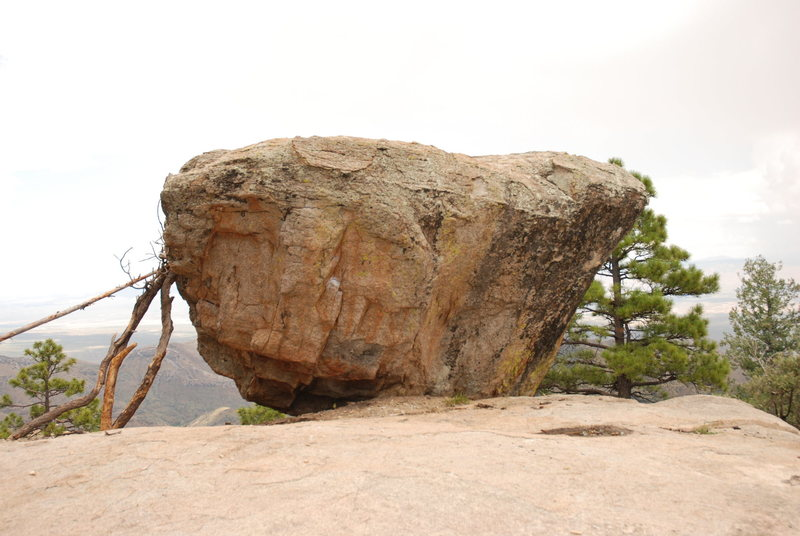 Rock Climbing Photo: Awesome views all around this rock. I need a wider...