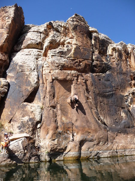 Rock Climbing Photo: Amazing 12a/b!