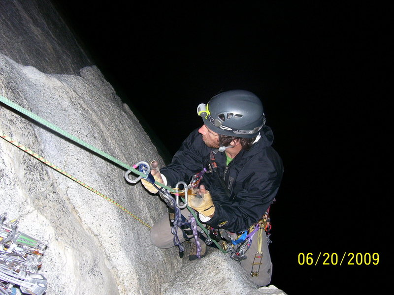 Juggin'P7  on South Face, Washington Column