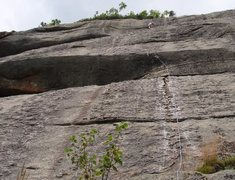 Rock Climbing Photo: Buckwheat in one long pitch.  Notice all the textu...