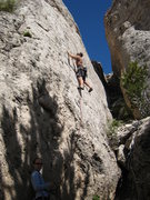 Rock Climbing Photo: ...Boomslang