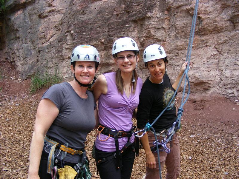 Rock Climbing Photo: Ouray hotties!