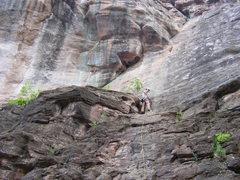 Rock Climbing Photo: Ouray 7/3/09