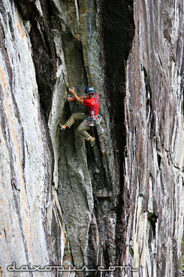 Rock Climbing Photo: Matt McCormick on Another Wack and Dangle Job