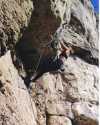 Rock Climbing Photo: Redpointed Hostile Crankover, 5.11c, North Side Cr...