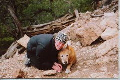 Rock Climbing Photo: Me and my late pooch Emiel