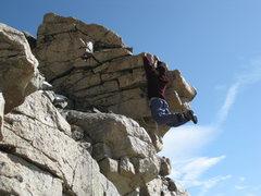 Rock Climbing Photo: 3rd Class my ASS!