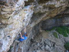 Rock Climbing Photo: once the angle kicks back, there are three common ...