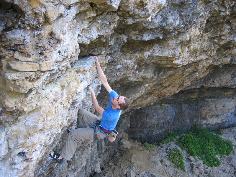 Rock Climbing Photo: when brandon and i first saw this photo, we couldn...