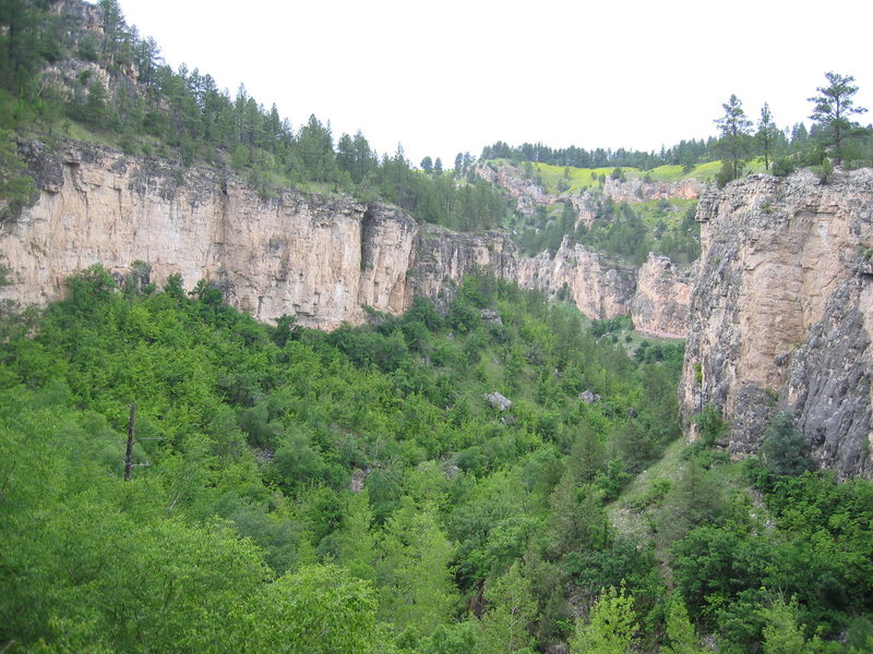 lower canyon.