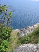 Rock Climbing Photo: top-out.