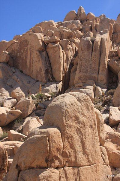 Rock Climbing Photo: Drano, 5.10-