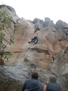Rock Climbing Photo: Griffo crack