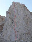 Rock Climbing Photo: The Venturi Effect, 5.12. Croft, Nettle, Davis '04...