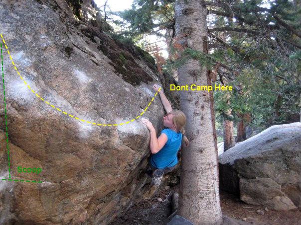 Rock Climbing Photo: Climber: Megan Cerise.