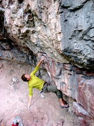 Rock Climbing Photo: First clip is high on this one so a stick clip may...