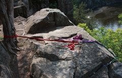 Rock Climbing Photo: I saw this anchor the other day...
