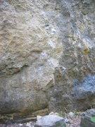 Rock Climbing Photo: bottom section.