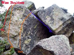 Rock Climbing Photo: Wise Boulders