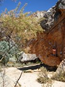 Rock Climbing Photo: Unknown Boulder in Rocklands