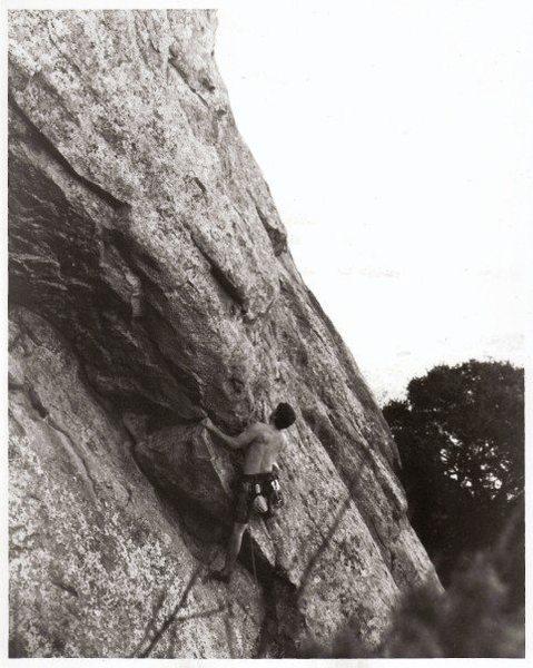 Rock Climbing Photo: Out of Hangers, 10a