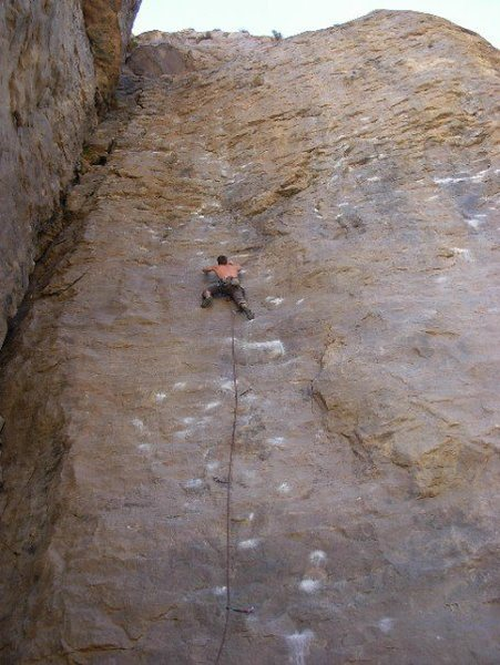 Rock Climbing Photo: Expressway, Central Gorge, 11b