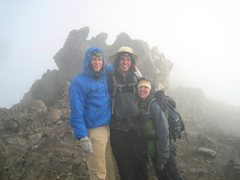Rock Climbing Photo: Mt. Meru Summit with Max Brandt and Jamie Wright